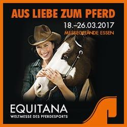 Werbebanner Equita-Pferdemesse 2017