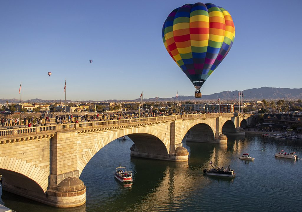 Lake Havasu Hot Air Balloon Festival
