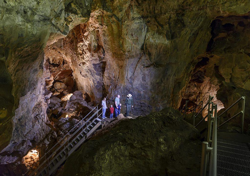 Höhlenforschung in South Dakota