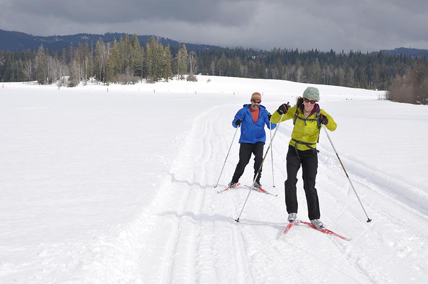 Western Pleasure Skiing