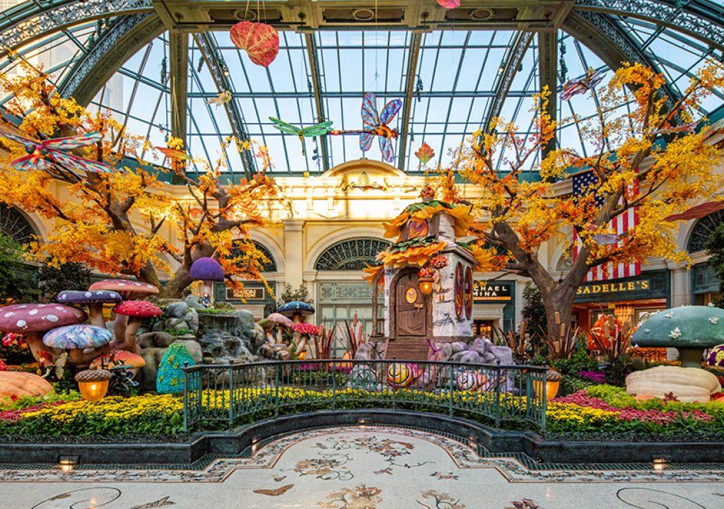 Herbst im Bellagio Las Vegas