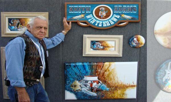 Native American Kunst: Keith (Winterhawk) Adams